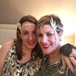 Laura and Ericka at Barnum Ball