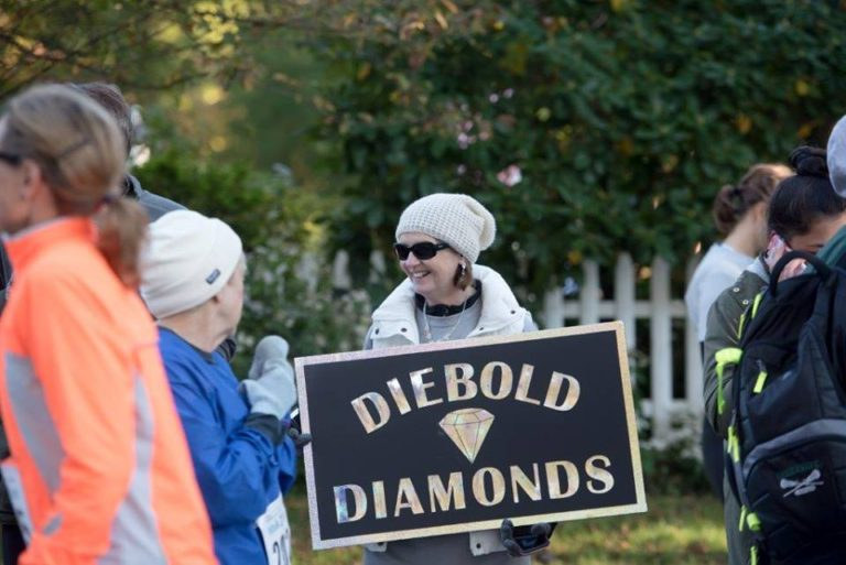 Diebold Cancer Walk